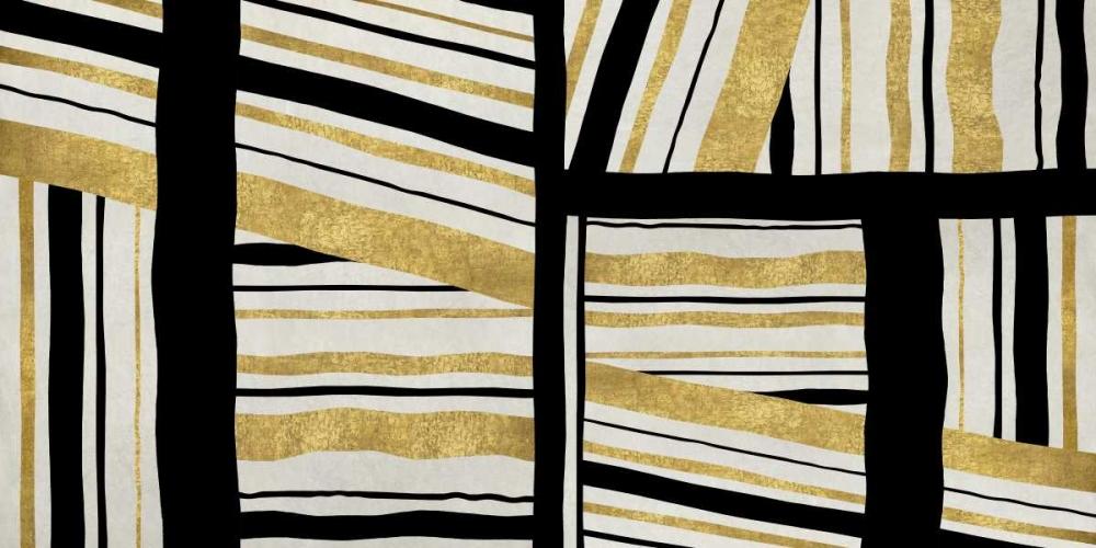 konfigurieren des Kunstdrucks in Wunschgröße Intersect - Golden von Roberts, Ellie