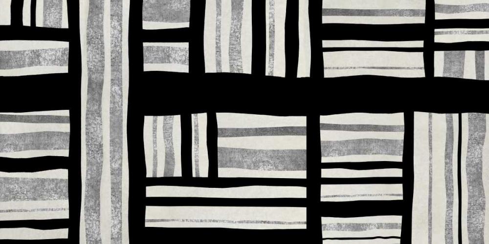 konfigurieren des Kunstdrucks in Wunschgröße Intersect - Silver von Roberts, Ellie