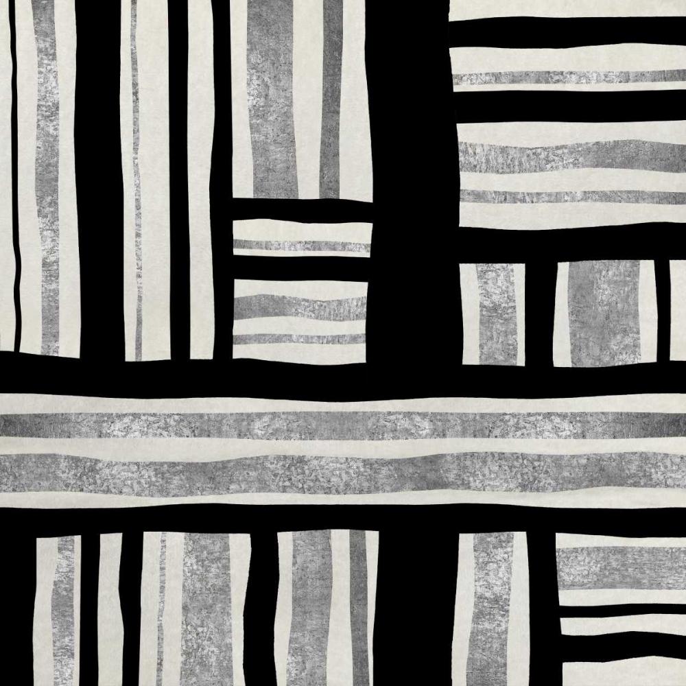 konfigurieren des Kunstdrucks in Wunschgröße Silver Groove II von Roberts, Ellie