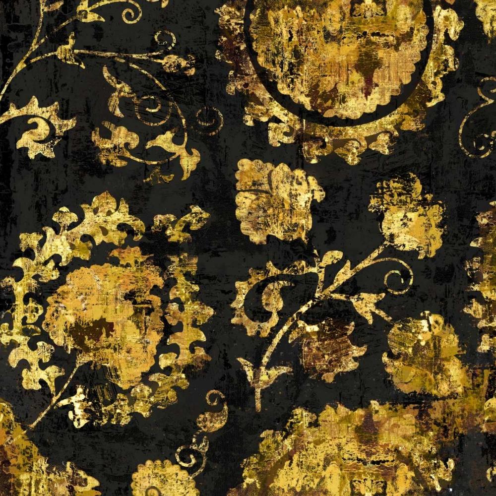 konfigurieren des Kunstdrucks in Wunschgröße Adornment in Gold II von Roberts, Ellie