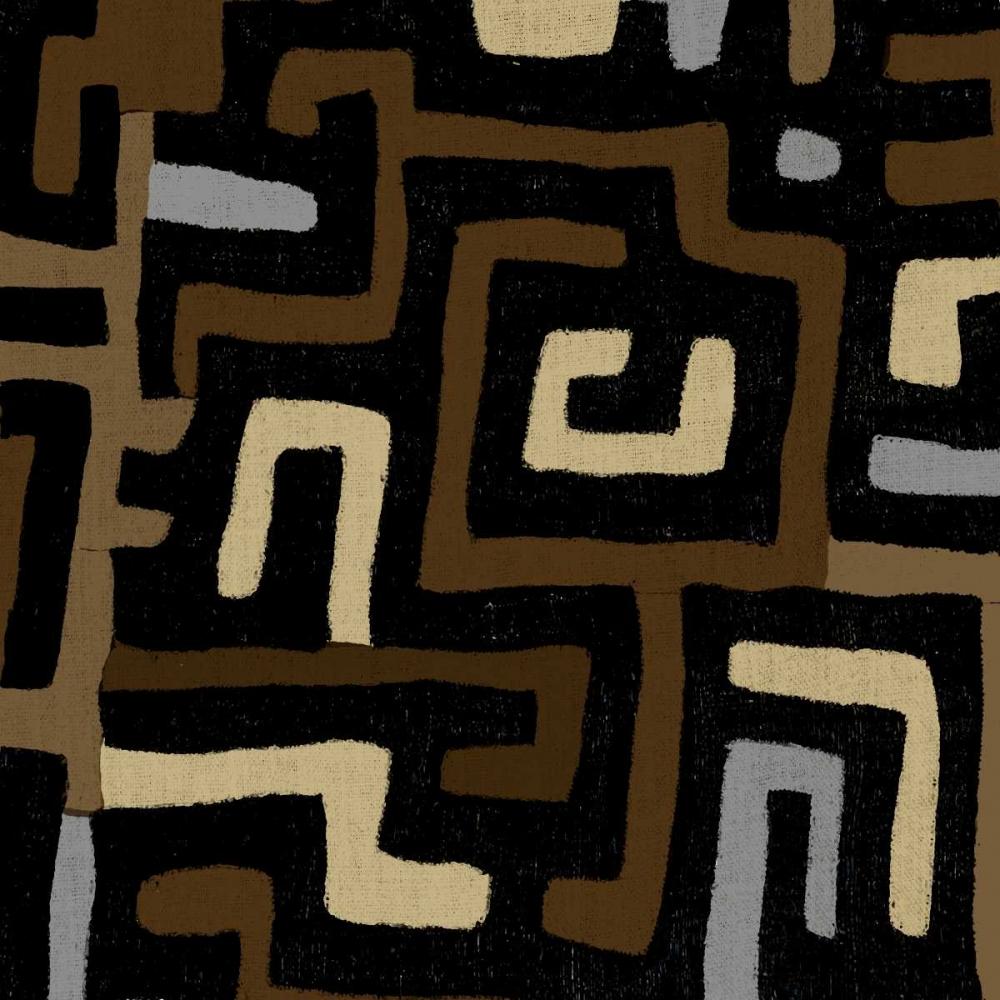 konfigurieren des Kunstdrucks in Wunschgröße Mudcloth I von Roberts, Ellie