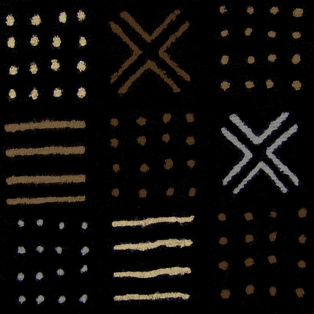 konfigurieren des Kunstdrucks in Wunschgröße Mudcloth II von Roberts, Ellie