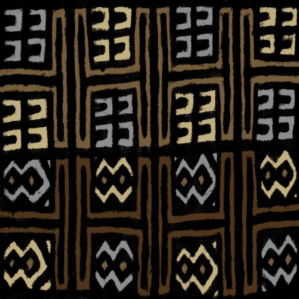 konfigurieren des Kunstdrucks in Wunschgröße Mudcloth IV von Roberts, Ellie
