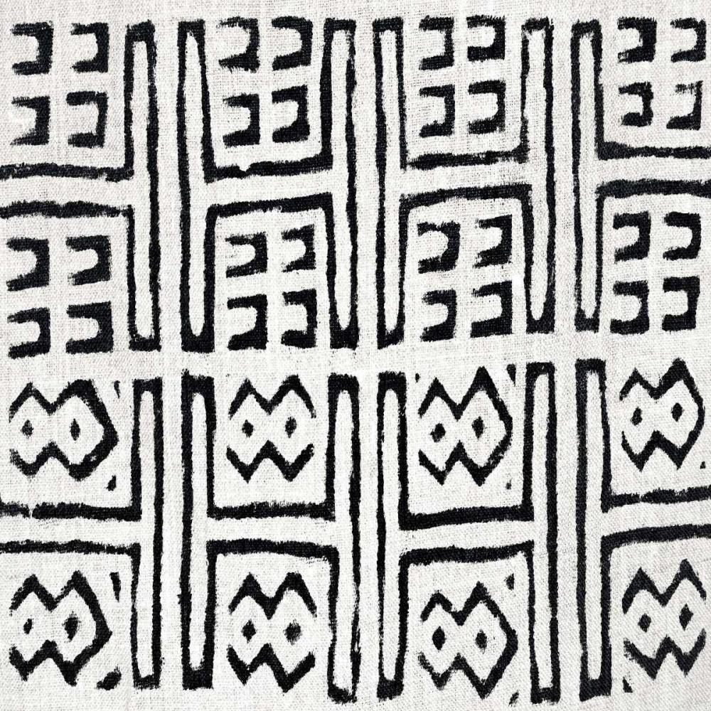 konfigurieren des Kunstdrucks in Wunschgröße Mudcloth White VII von Roberts, Ellie