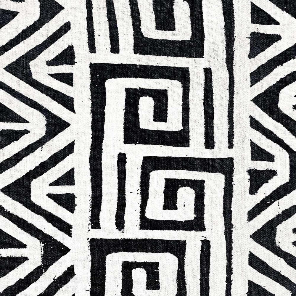 konfigurieren des Kunstdrucks in Wunschgröße Mudcloth White VIII von Roberts, Ellie
