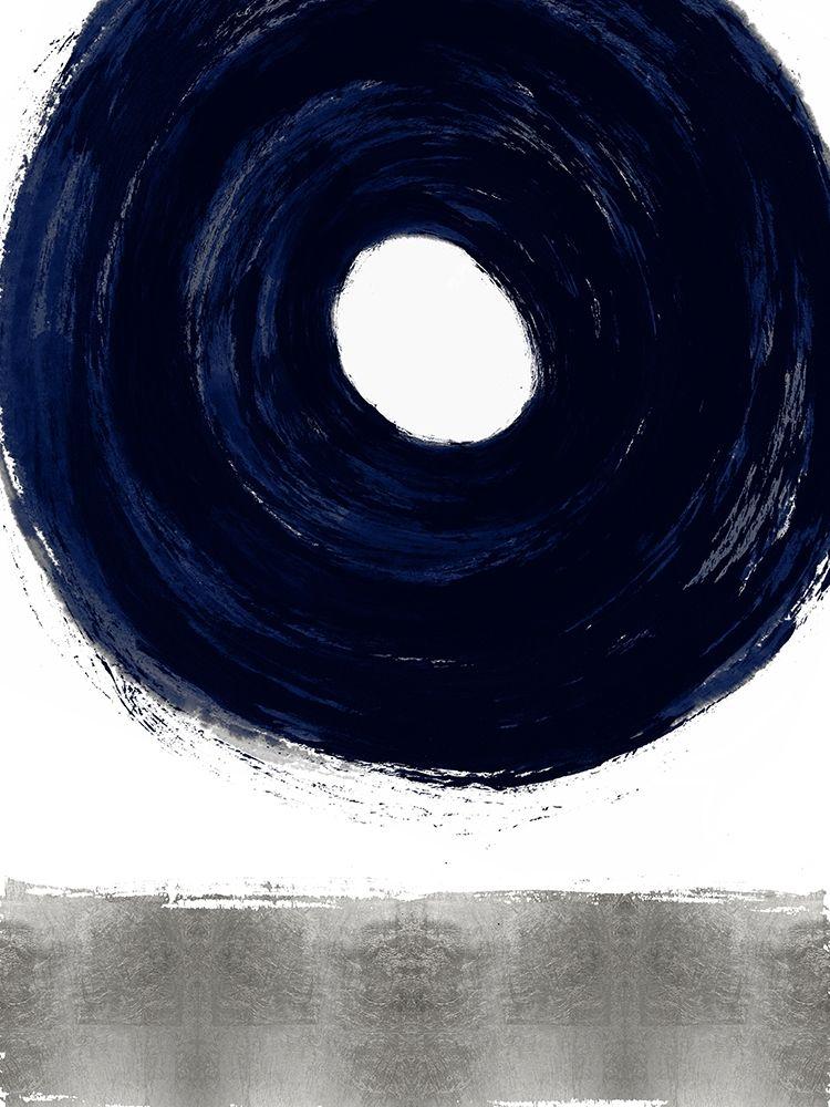 konfigurieren des Kunstdrucks in Wunschgröße Glide Blue I von Roberts, Ellie