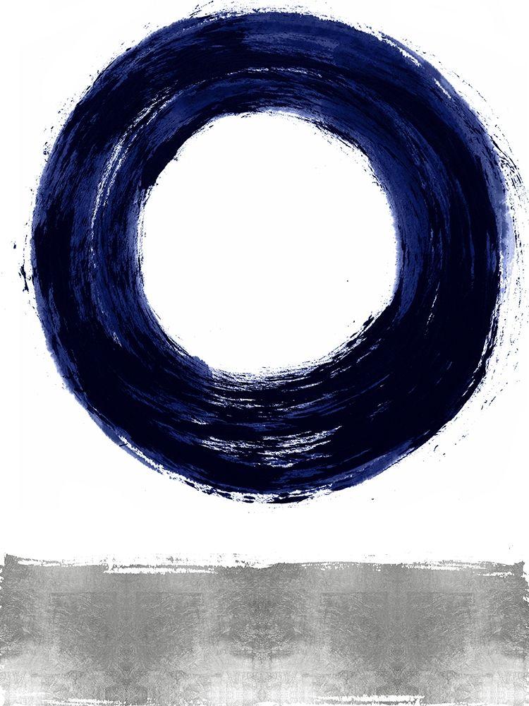 konfigurieren des Kunstdrucks in Wunschgröße Gravitate Blue I von Roberts, Ellie