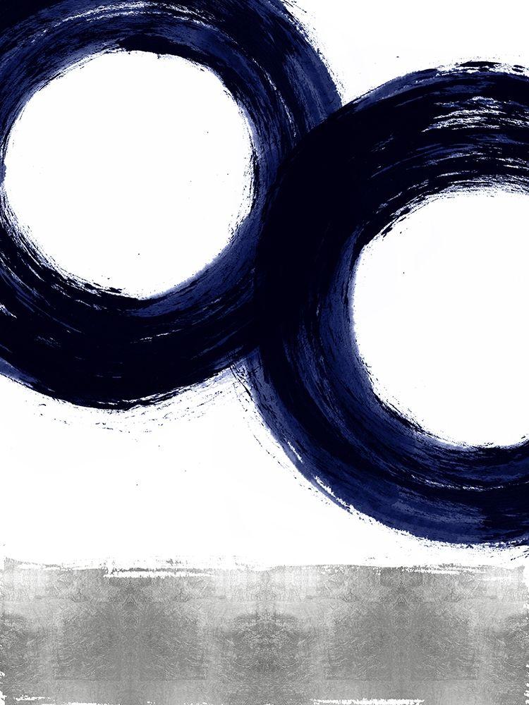 konfigurieren des Kunstdrucks in Wunschgröße Gravitate Blue III von Roberts, Ellie