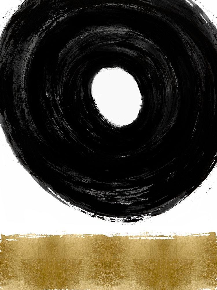 konfigurieren des Kunstdrucks in Wunschgröße Glide Black and Gold I von Roberts, Ellie