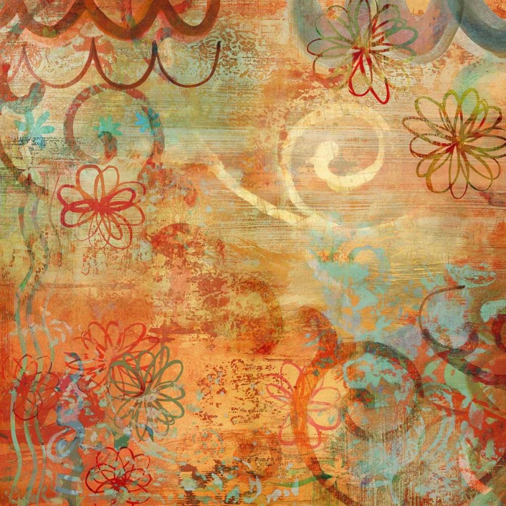 konfigurieren des Kunstdrucks in Wunschgröße Happy Days I von Dunn, Emily