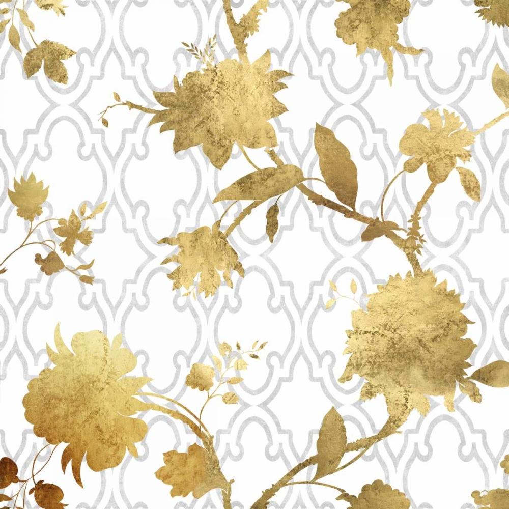 konfigurieren des Kunstdrucks in Wunschgröße Golden Silhouette II von Lange, Erin