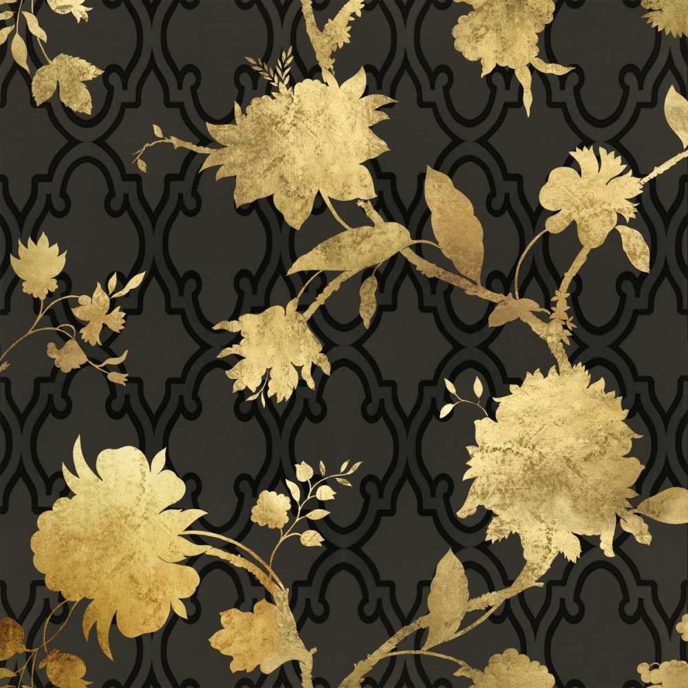 konfigurieren des Kunstdrucks in Wunschgröße Golden Silhouette III von Lange, Erin