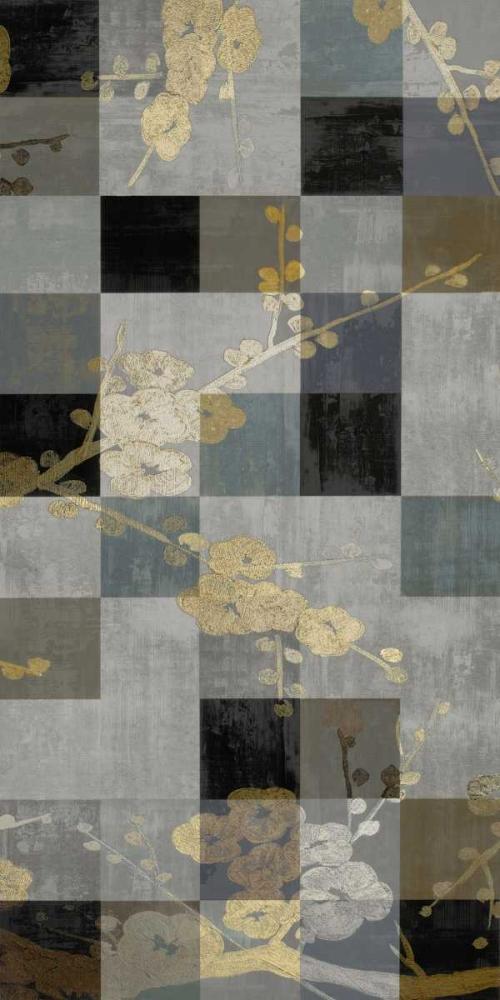 konfigurieren des Kunstdrucks in Wunschgröße Blossom Panel I von Lange, Erin