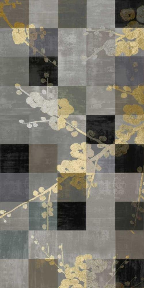 konfigurieren des Kunstdrucks in Wunschgröße Blossom Panel II von Lange, Erin
