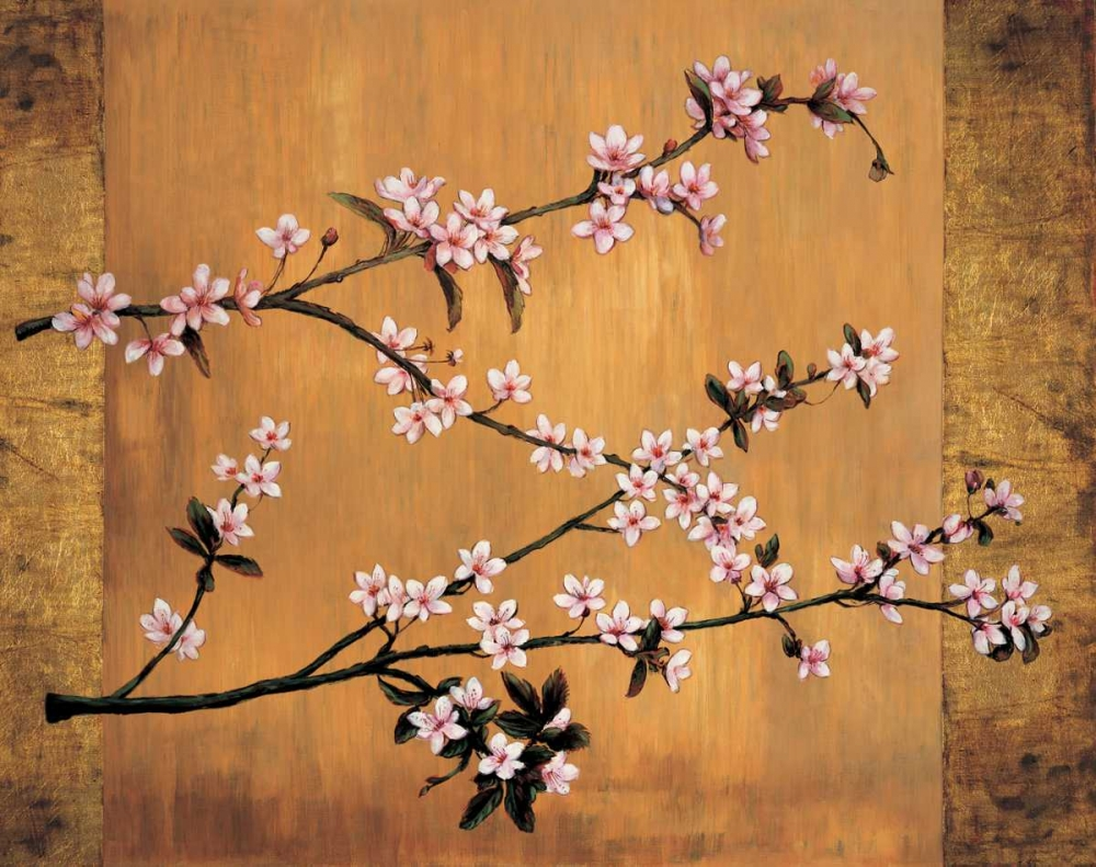 konfigurieren des Kunstdrucks in Wunschgröße Cherry Blossoms von Lange, Erin