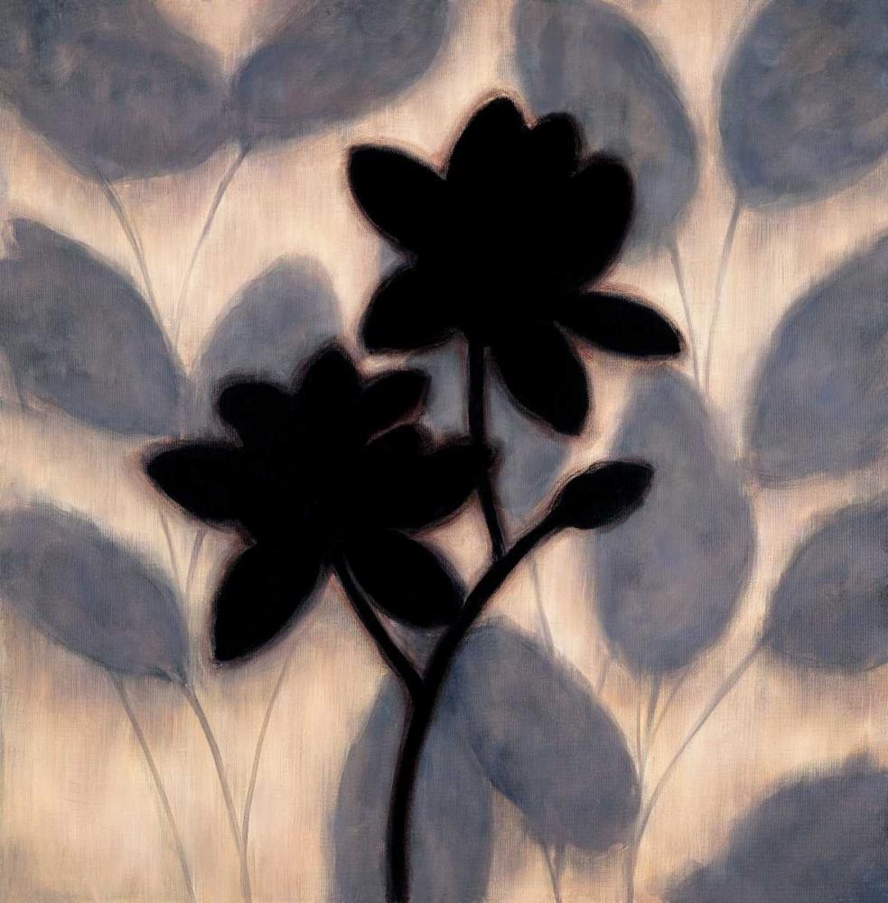 konfigurieren des Kunstdrucks in Wunschgröße Blossom Silhouette II von Lange, Erin