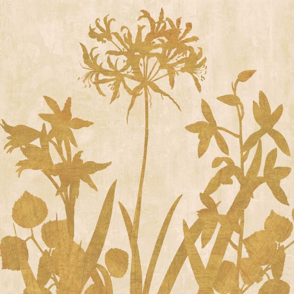 konfigurieren des Kunstdrucks in Wunschgröße Golden Reflections I von Lange, Erin
