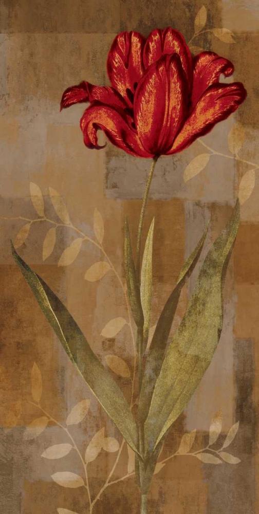 konfigurieren des Kunstdrucks in Wunschgröße Red Impression I von Lange, Erin