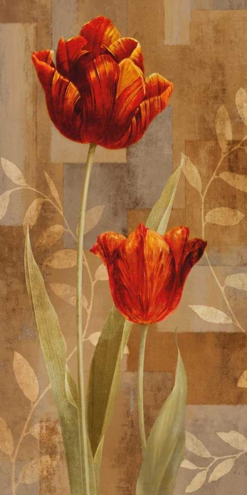konfigurieren des Kunstdrucks in Wunschgröße Red Impression II von Lange, Erin
