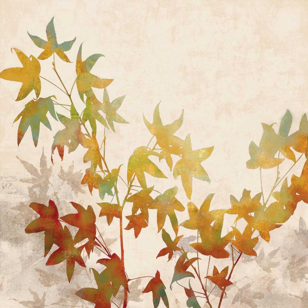 konfigurieren des Kunstdrucks in Wunschgröße Turning Leaves I von Lange, Erin