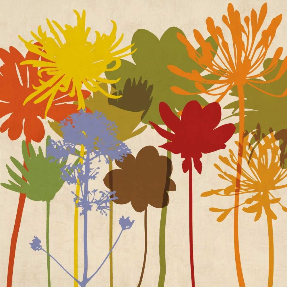 konfigurieren des Kunstdrucks in Wunschgröße Colorful Bloom I von Lange, Erin