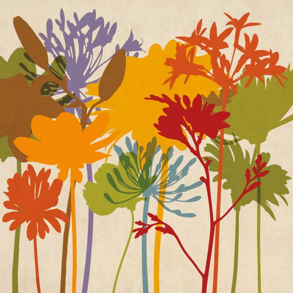 konfigurieren des Kunstdrucks in Wunschgröße Colorful Bloom II von Lange, Erin