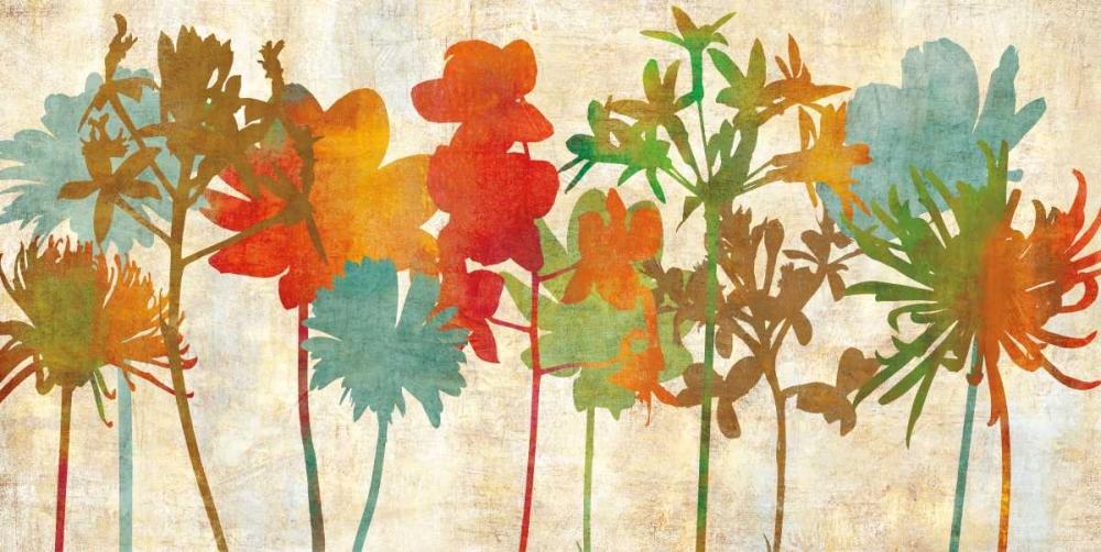 konfigurieren des Kunstdrucks in Wunschgröße Colorful Silhouette von Lange, Erin