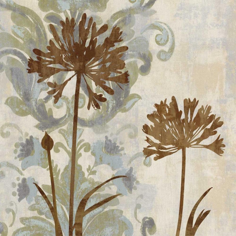 konfigurieren des Kunstdrucks in Wunschgröße Floral Oasis I von Lange, Erin