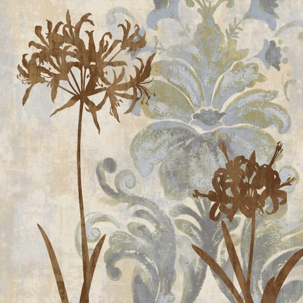 konfigurieren des Kunstdrucks in Wunschgröße Floral Oasis II von Lange, Erin