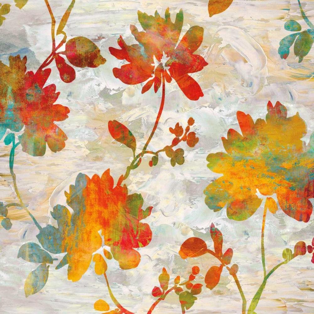 konfigurieren des Kunstdrucks in Wunschgröße Garden View I von Lange, Erin