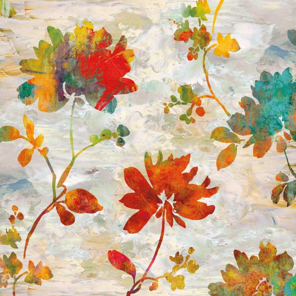 konfigurieren des Kunstdrucks in Wunschgröße Garden View II von Lange, Erin