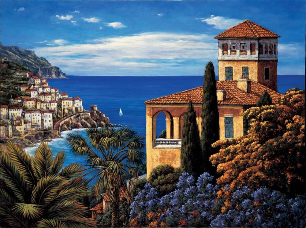 konfigurieren des Kunstdrucks in Wunschgröße The Amalfi Coast von Wright, Elizabeth