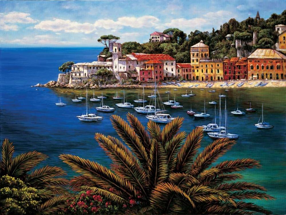 konfigurieren des Kunstdrucks in Wunschgröße The Tuscan Coast von Wright, Elizabeth