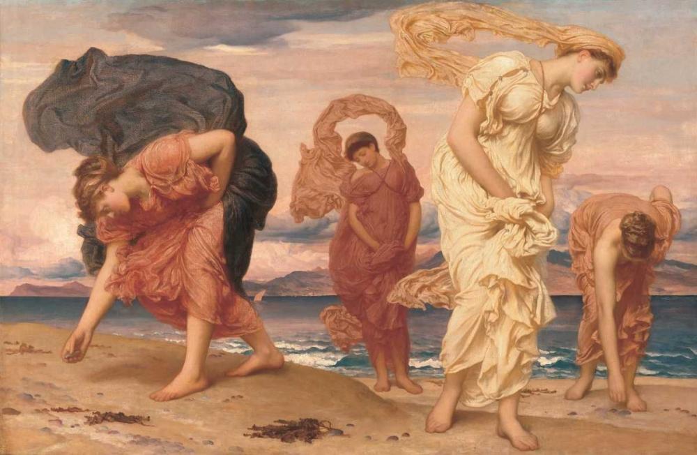 konfigurieren des Kunstdrucks in Wunschgröße By the Sea von Leighton, Frederic