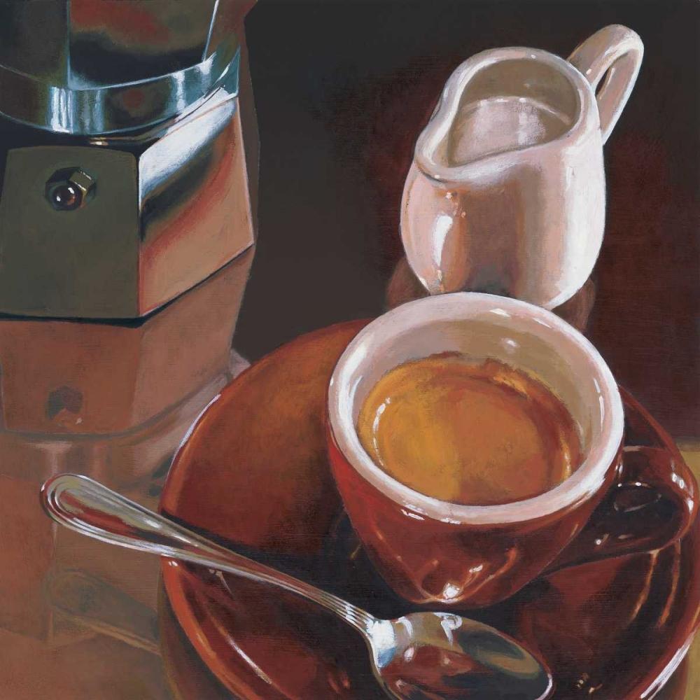 konfigurieren des Kunstdrucks in Wunschgröße Caffe del mattino von Landi, Federico