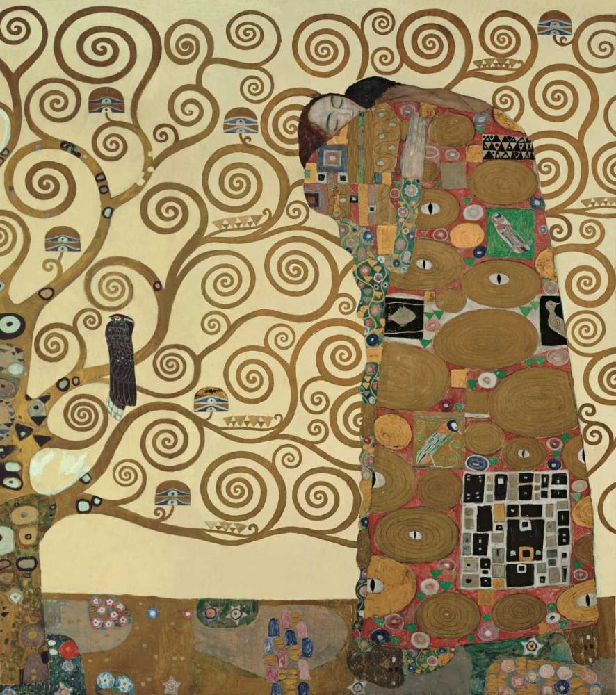 konfigurieren des Kunstdrucks in Wunschgröße Die Erfullung von Klimt, Gustav