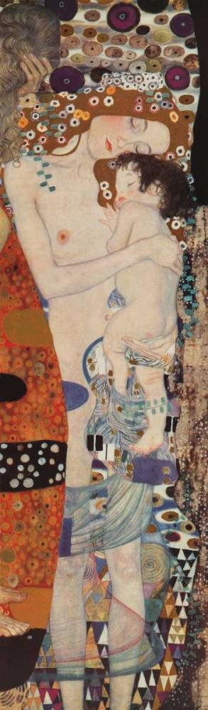 konfigurieren des Kunstdrucks in Wunschgröße Three Ages of Woman von Klimt, Gustav