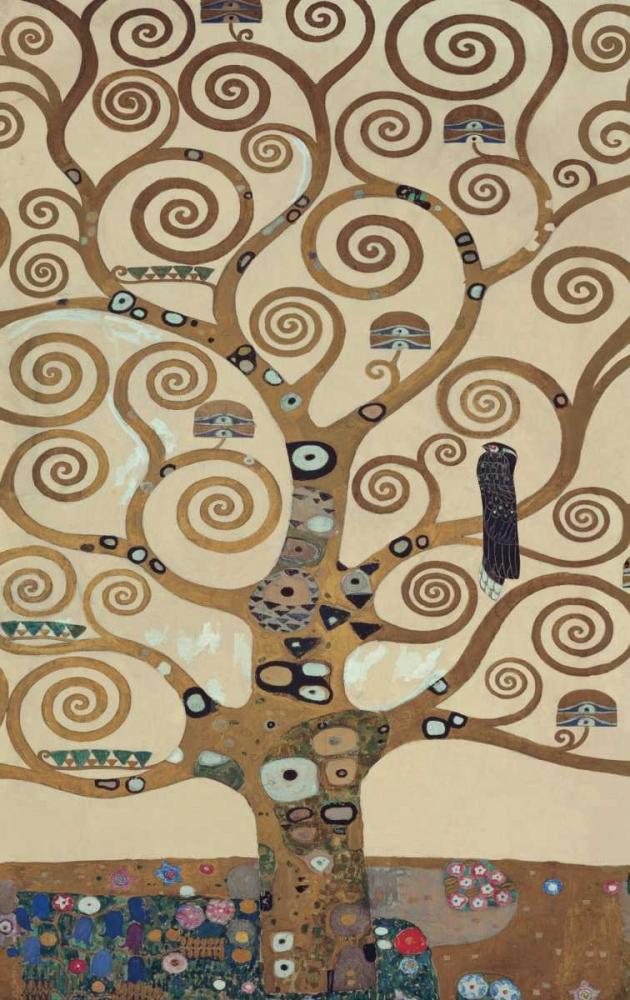 konfigurieren des Kunstdrucks in Wunschgröße The Tree of Life von Klimt, Gustav
