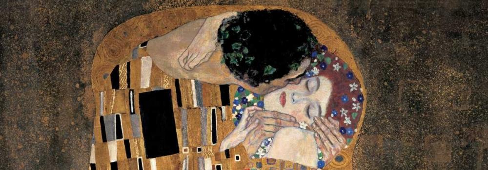 konfigurieren des Kunstdrucks in Wunschgröße Il bacio von Klimt, Gustav