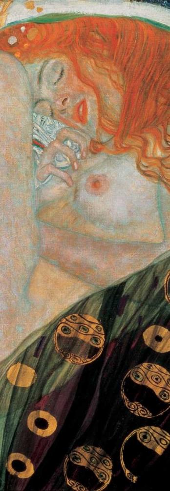 konfigurieren des Kunstdrucks in Wunschgröße Danae von Klimt, Gustav