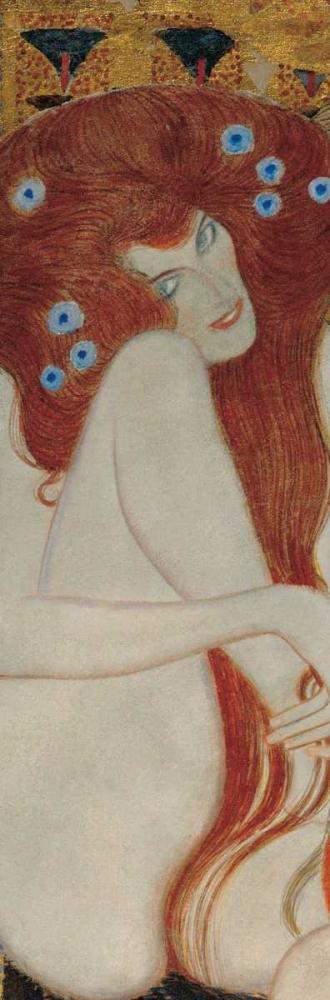 konfigurieren des Kunstdrucks in Wunschgröße Beethoven Frieze von Klimt, Gustav