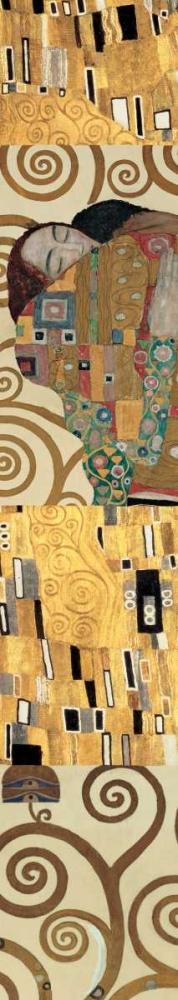 konfigurieren des Kunstdrucks in Wunschgröße Klimt Panel I von Klimt, Gustav