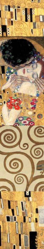 konfigurieren des Kunstdrucks in Wunschgröße Klimt Panel II von Klimt, Gustav