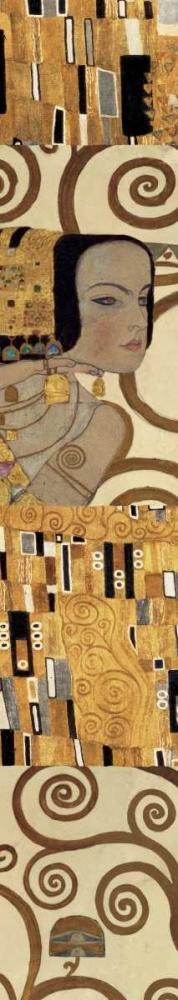 konfigurieren des Kunstdrucks in Wunschgröße Klimt Panel III von Klimt, Gustav