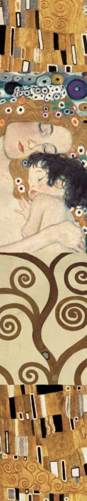 konfigurieren des Kunstdrucks in Wunschgröße Klimt Panel IV von Klimt, Gustav