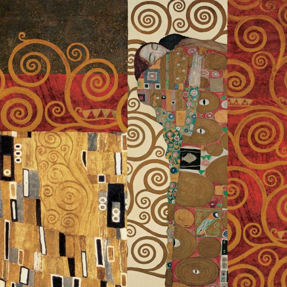 konfigurieren des Kunstdrucks in Wunschgröße Klimt Details von Klimt, Gustav