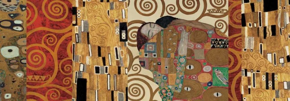 konfigurieren des Kunstdrucks in Wunschgröße Klimt Deco von Klimt, Gustav