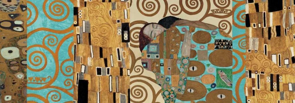 konfigurieren des Kunstdrucks in Wunschgröße Klimt I 150th Anniversary - Fulfillment von Klimt, Gustav