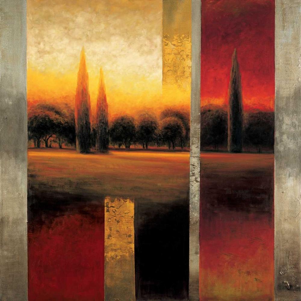 konfigurieren des Kunstdrucks in Wunschgröße Reflections I von Williams, Gregory