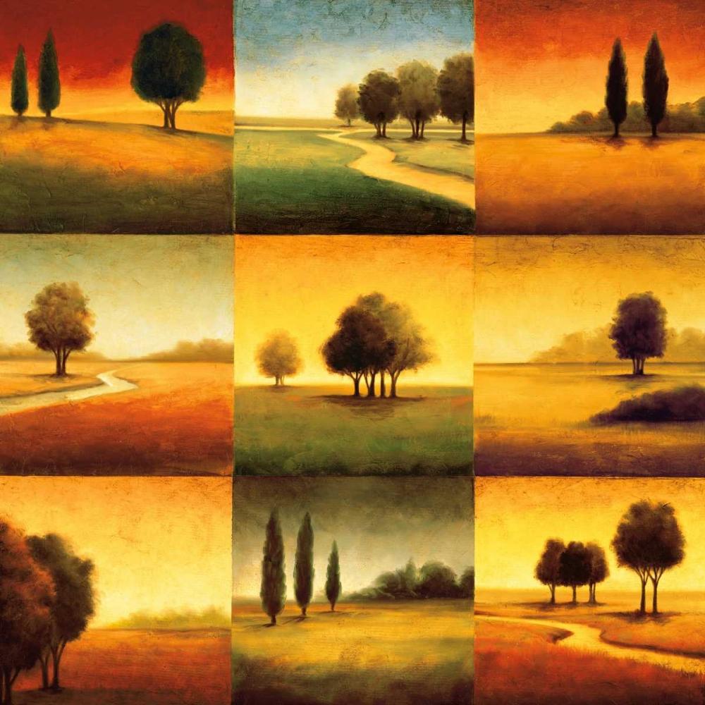 konfigurieren des Kunstdrucks in Wunschgröße Landscape Perspectives von Williams, Gregory